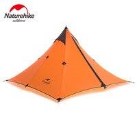 2017 Naturehike 1 Man Tarp Tent Single Person None Pole Ultralight Pyramid Outdoor Hiking Camping Tents