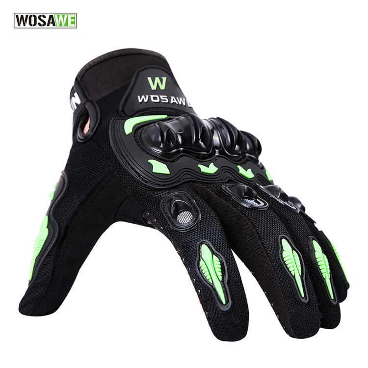 WOSAWE Cross-country Motorcycle Full Finger Glove Shell Defence Riding A Bicycle Glove Long Finger Glove BST-015