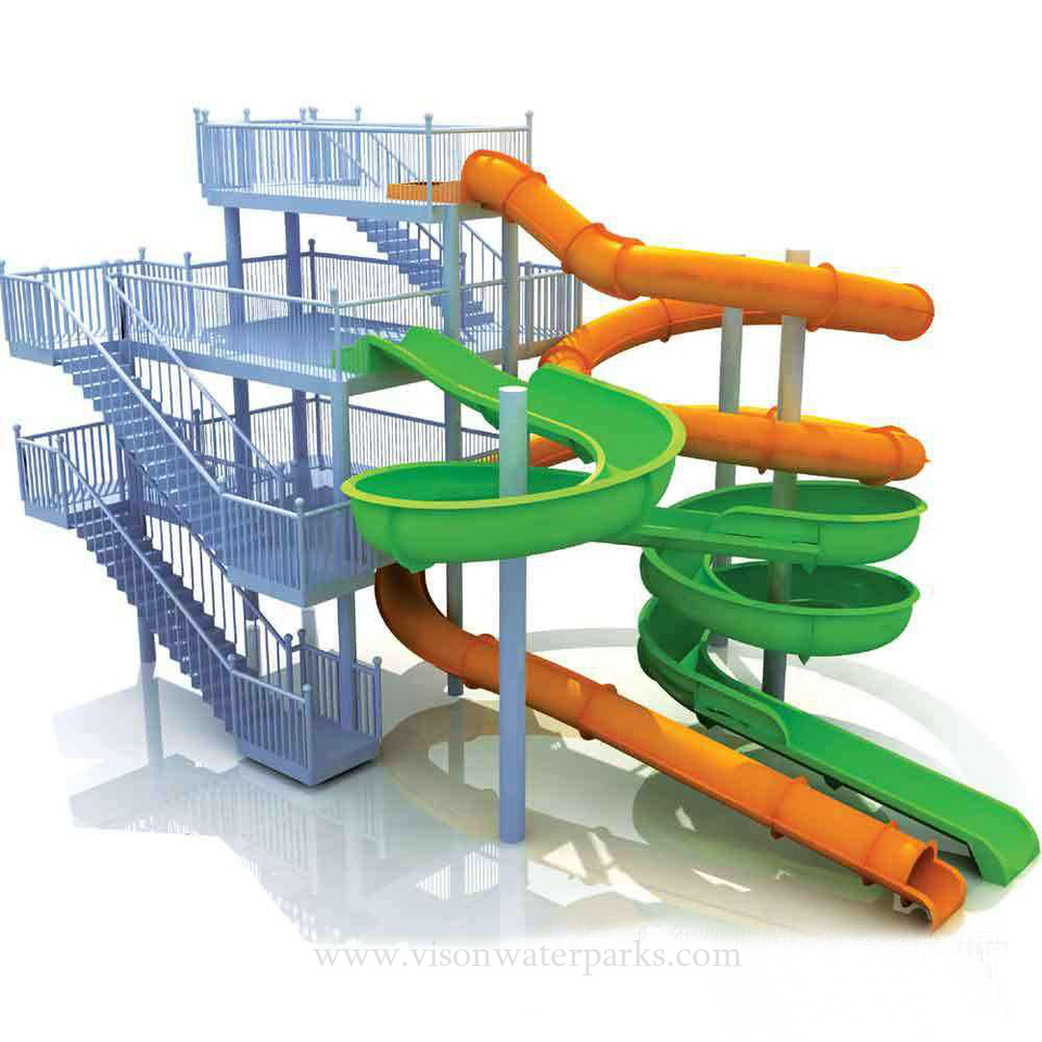 Home Residential Kids Tube Garden Swimming Pool With Slide Slides