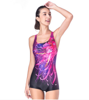 Fashion Bathing Suit Slimming Training Swimsuit One Piece 2015 Swimwear Women Arena Competitive Swimming Suit For