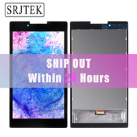 Srjtek Black Color 7 Inch For Lenovo Tab 2 A7 A7 30 LCD Display With Touch