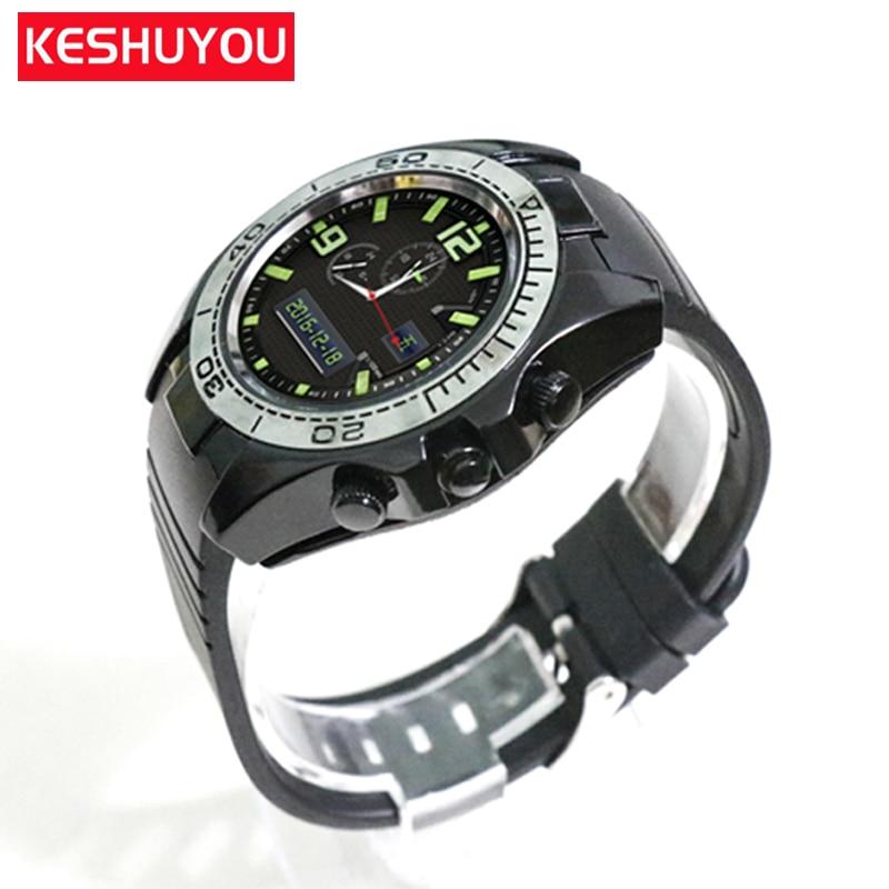 f95b1e5702a Homens Passometer cartão Sim smartwatch Bluetooth Relógio inteligente  relógio de pulso watchs Responder A Chamada de