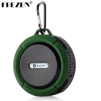 New C6 Bluetooth Speaker Portable Wireless Waterproof Shower Speakers Handsfree With Mic Suction Cup Music Mini