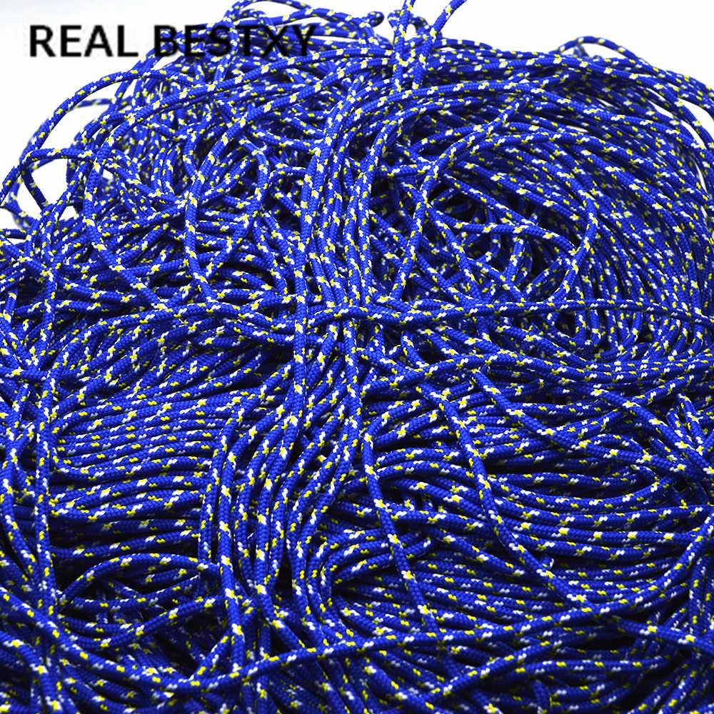 REAL BESTXY 10 m/lote aprox. Diámetro 3mm cuerda de nailon para ancla gancho pulseras cuerda pulsera joyería suministros