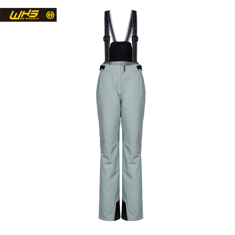 WHS new Women skiing pants brands Outdoor Warm Snowboard trouser female waterproof snow trousers ladies breathable sport pant ...