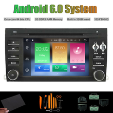 Android 6.0 Octa-core CAR DVD PLAYER for PORSCHE CAYENNE 2006-2010 Radio RDS WIFI 2G RAM 32GB Inand Flash