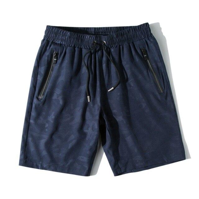 Novo Trecho 2 Lado Bolso Camuflagem Calções Boardshorts Shorts da Praia Dos Homens Bermuda De Surf Homem Maiô Swimwear Trunks Curto