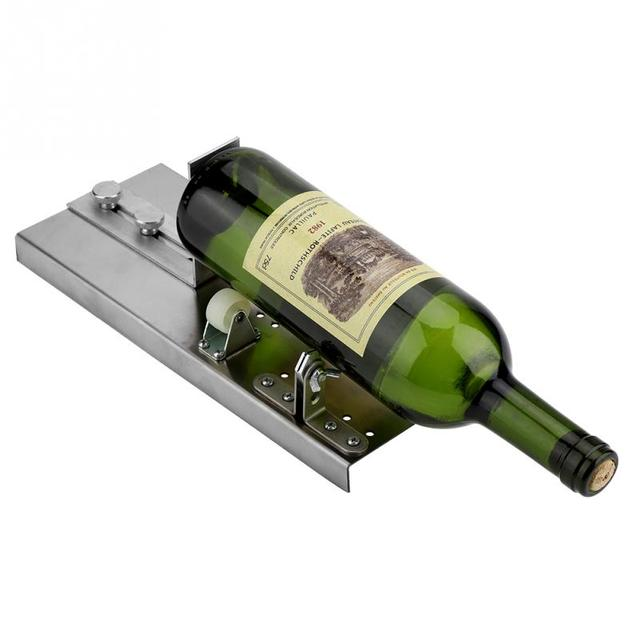 Glass Bottle Cutter Stained Glass Recycles Wine Bottles Cutters Enchanting Stained Glass Wine Bottle Decorations