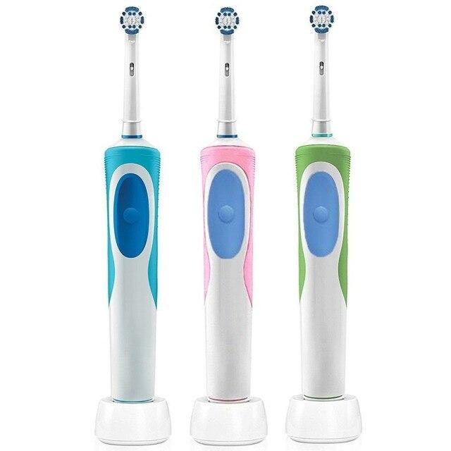 Cepillo de dientes eléctrico recargable de precisión, cepillo de dientes ultrasónico para niños y adultos, voltaje de 220 240v