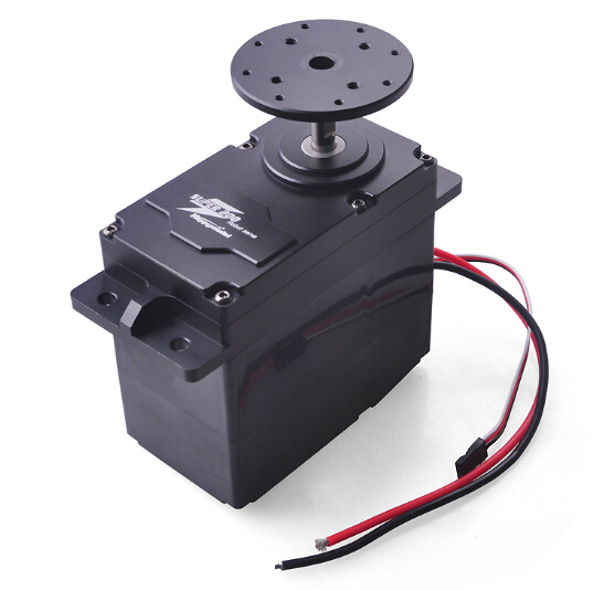 SUPER200/300/500 High Torque Metal Servo 12 24V 200kg.cm 300kg.cm 500kg.cm 0.5S/60 Degree BEC 5V for DIY Large Robot Arm Parts