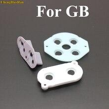 أفضل سعر الجملة 3 قطعة/المجموعة 2 10 مجموعات لنينتندو GameBoy الكلاسيكية GB DMG 01 موصل المطاط سيليكون أزرار D وسادة D pad