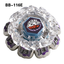 grossist 3pcs / lot Ny BB116E Beyblade Metal Fusion 4D System Battle Top Metal Fury Masters Med Launcher Spinning top
