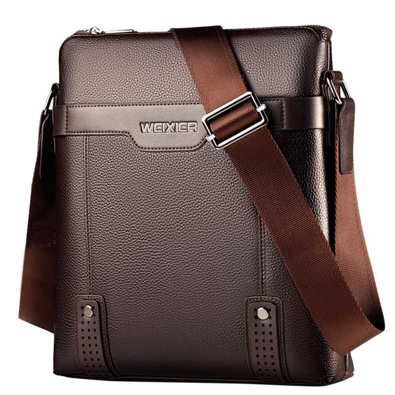 5b83496e4 2019 New Fashion PU Leather Men Messenger Bags Casual Crossbody Bag  Business Men's Handbag Bags for