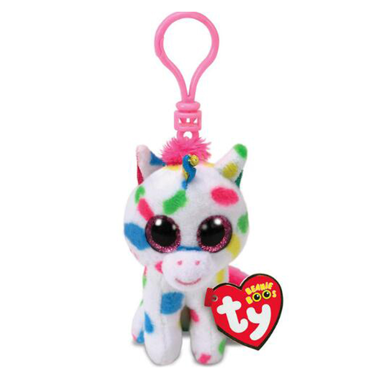25712c5affa Ty Beanie Boos Harmonie The Poddle Unicorn Small Pendant Plush Toy Clip  Stuffed Collection Soft Doll With Tag 4