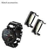 LEATHERMAN Watch Link Bracelet Stainless Steel Multifunctional Tool Outdoor Bracelet Accessories Table Ear Fastener Watch Chain
