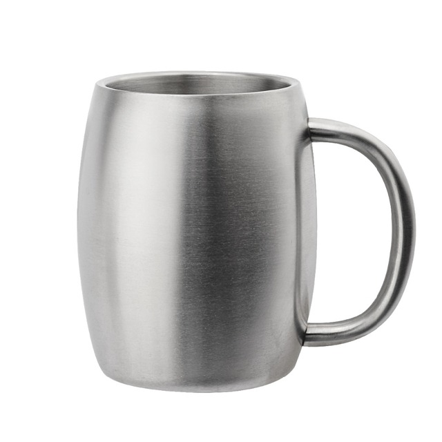 Classic Thick Stainless Steel Beer Mug