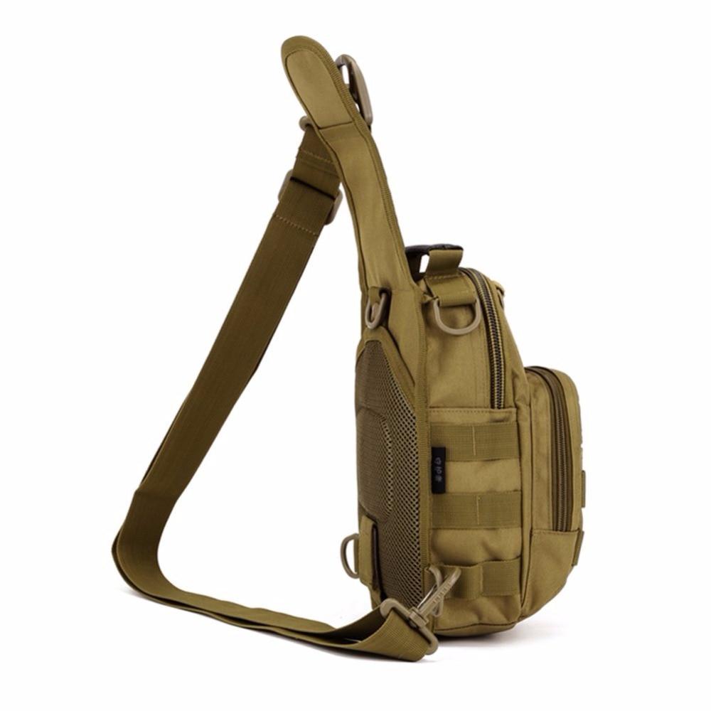Prix pour 1000D Nylon Hommes Tactique Militaire Voyage Randonnée Messenger Sling Pack Poitrine Sac