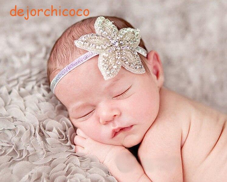 Baby Girl Party Crystal Rhinestone Headband