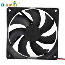 Hot-sale BINMER Compuer Fan Cooler 120*120mm 1800PRM 4 Pin 12V DC Brushless PC Computer Computer Case Cooling Fan
