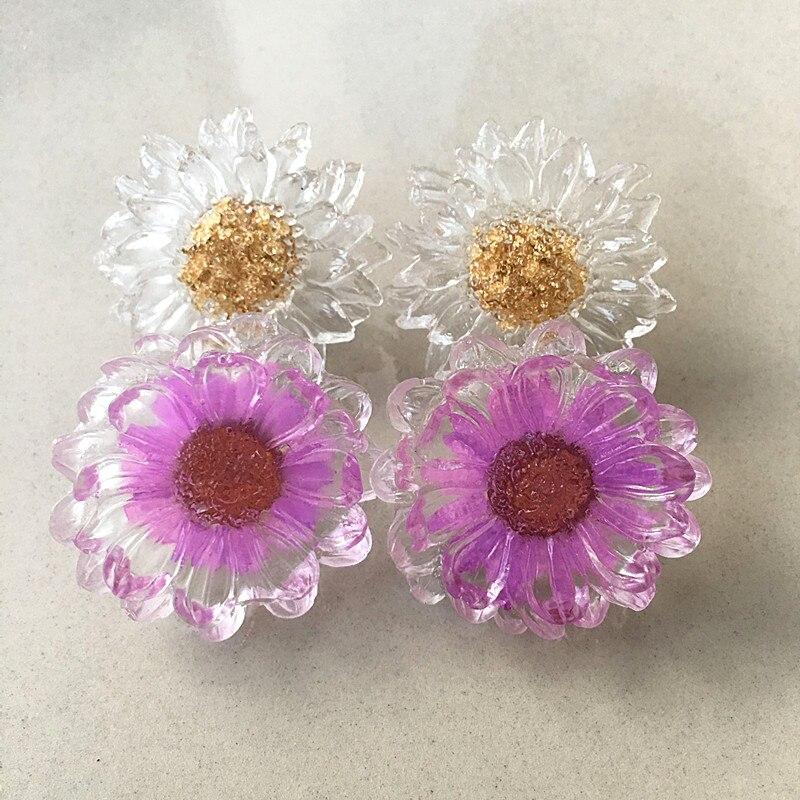 Aliexpress.com : Buy Luxury Jewelry Dark Yellow Large Crystal Fashion Earrings Charm Stud