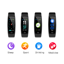 smart band 0.96inch color screen heart rate blood pressure monitoring sports bracelet fitness smart tracker for Android and IOS k07 plus color screen smart wristband sports bracelet heart rate blood pressure oxygen fitness tracker mi band 2 for ios android