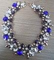 2016 новинка ювелирные изделия женщины роскошные бижутерии Z бренд кристалл себе ожерелье колье биб воротник горный хрусталь ожерелья