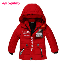Children Jackets for Boys Clothes 2017 Winter Baby Girl Jackets warm Kids down Coat Boys Outerwear &Coats fashion winter padded
