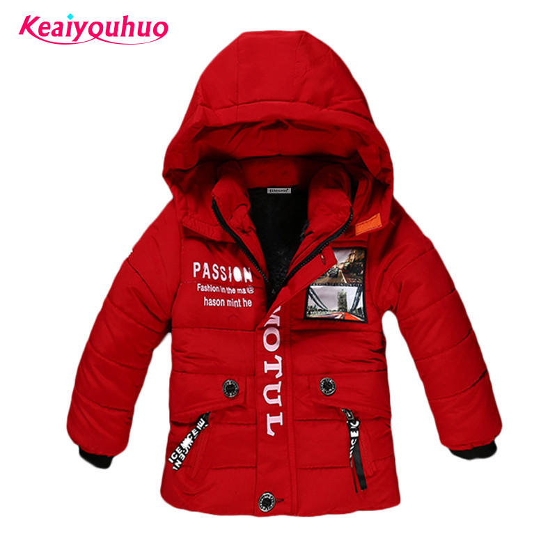 Children Jackets for <font><b>Boys</b></font> Clothes 2017 Winter Baby Girl Jackets warm Kids down Coat <font><b>Boys</b></font> Outerwear &Coats fashion winter padded