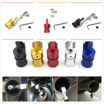 Car Turbo Sound Exhaust Muffler Pipe Whistle Simulator Whistler Accessories for BMW E46 E39 E38 E90 E60 E36 F30 F30 image