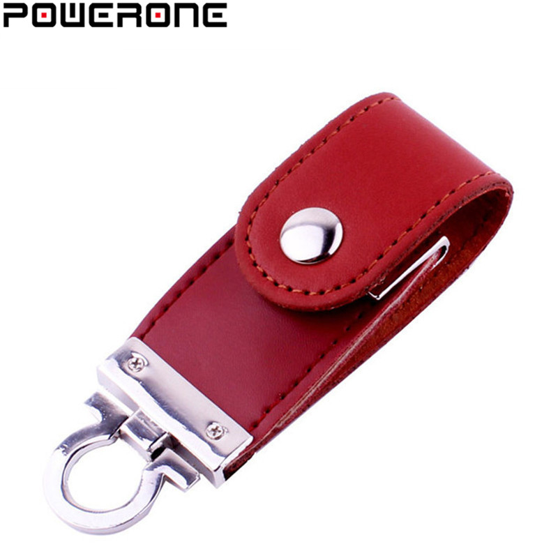 POWERONE Keychain Pendrive Memory-Stick Flash 16GB 32GB Metal 64GB 8GB
