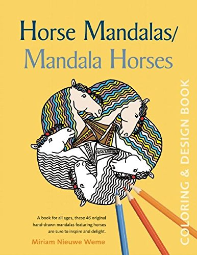 Ofis Ve Okul Malzemeleri Ten Kitaplar De Horse Mandalas Mandala