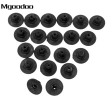Mgoodoo 20Pcs Auto Fasteners Self Tapping Screws Seat Nut Cap For Audi Plastic Screw Holder Cushion