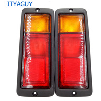 1 Pair Left Right Rear Tail Light Lamp MB124963 MB124964 214 1946L UE 214 1946R