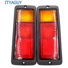 2pcs/ 1 Pair Left & Right Rear Tail Light Lamp MB124963 MB124964 214-1946L-UE 214-1946R-UE Fit for Mitsubishi Pajero Montero