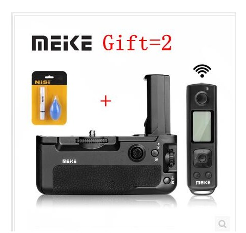 Здесь можно купить  Meike MK-A9 PRO Battery Grip with 2.4GHz Remote Controller to Vertical-shooting,for Sony A9 A7RIII A7III A7 III a7iii As VG-C3EM  Бытовая электроника