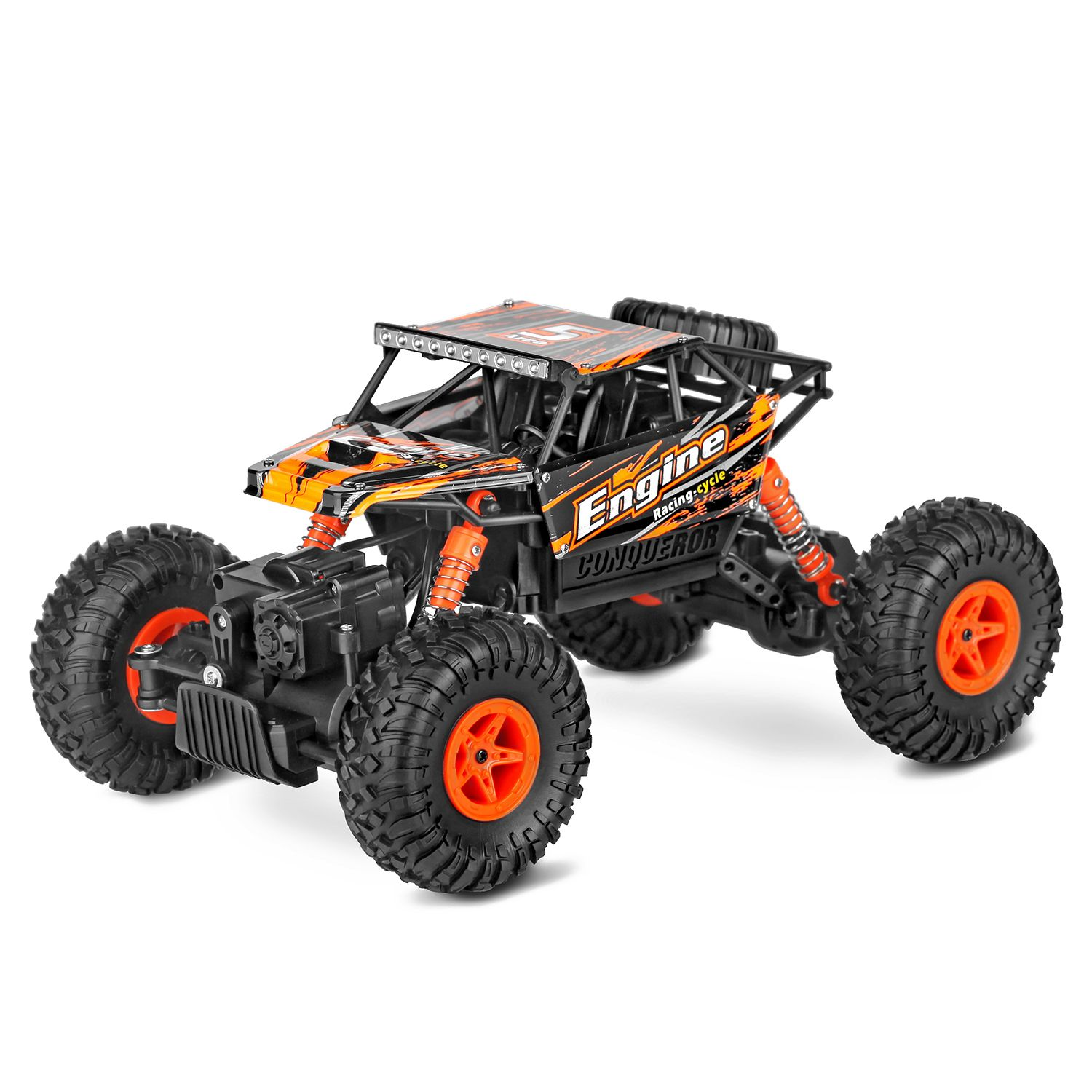WLtoys 18428 - B RC Cars 1: 18 Scale MODE 2 2.4G 4WD RC Off-road Car Crawler with Four-wheel Independent Suspension System 2pcs 2 2 metal wheel hubs for 1 10 scale rc crawler car nv widen version outer beadlock wheels diameter 64 5mm width 43 5mm