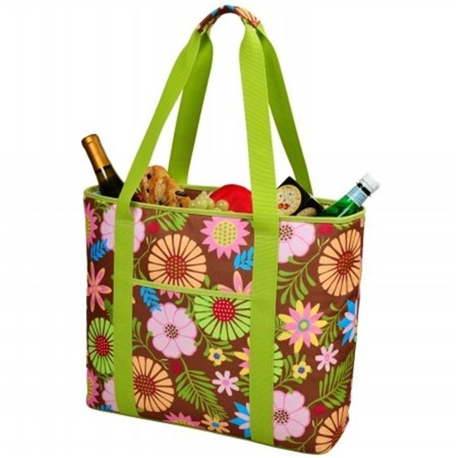 Picnic at Ascot 421-F Large Cooler Tote - Floral paddington at large