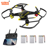 Global Drone GW66 Drones with Camera HD Altitude Hold RC Helicopter Mini Drone Wifi FPV Dron Quadrocopter VS SYMA X5C QC 16