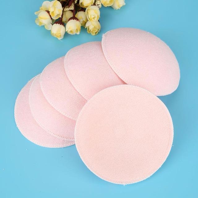 6pcs/Sets Soft Absorbent Nursing Pads Washable Reusable Soft Cotton  Breast Pads Washable Nursing Pad  Breastfeeding Accessories