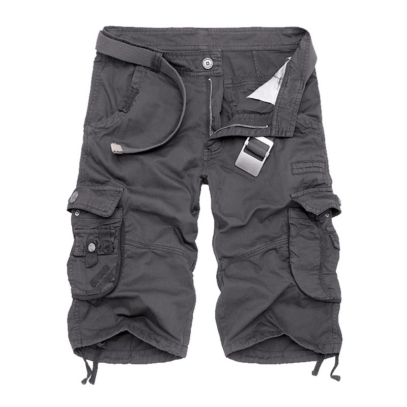 Shujin Cargo Shorts Men Cool Camouflage Summer Hot Sale Casual Men Short Pants Brand Clothing Comfortable Camo Men Cargo Shorts