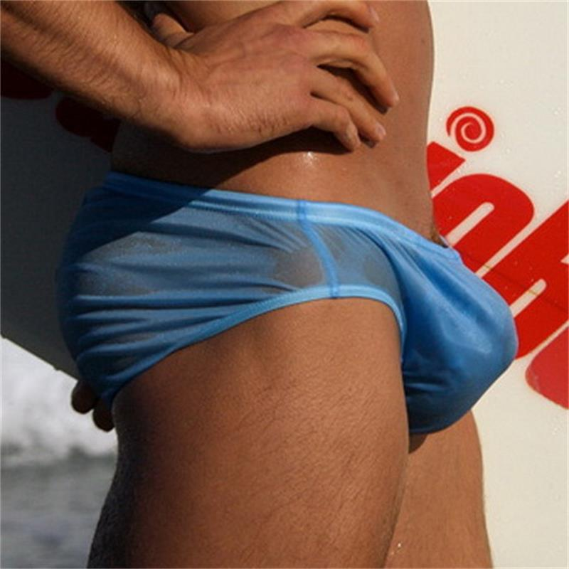 Men Swimwear Beach-Shorts Surf Sport Low-Waist Sexy Sunga title=