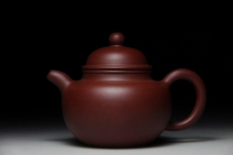 hot Authentic Yixing Zisha masters handmade teapot ore mud ball drop Dahongpao Tea Zhu Yixing teapot number 360