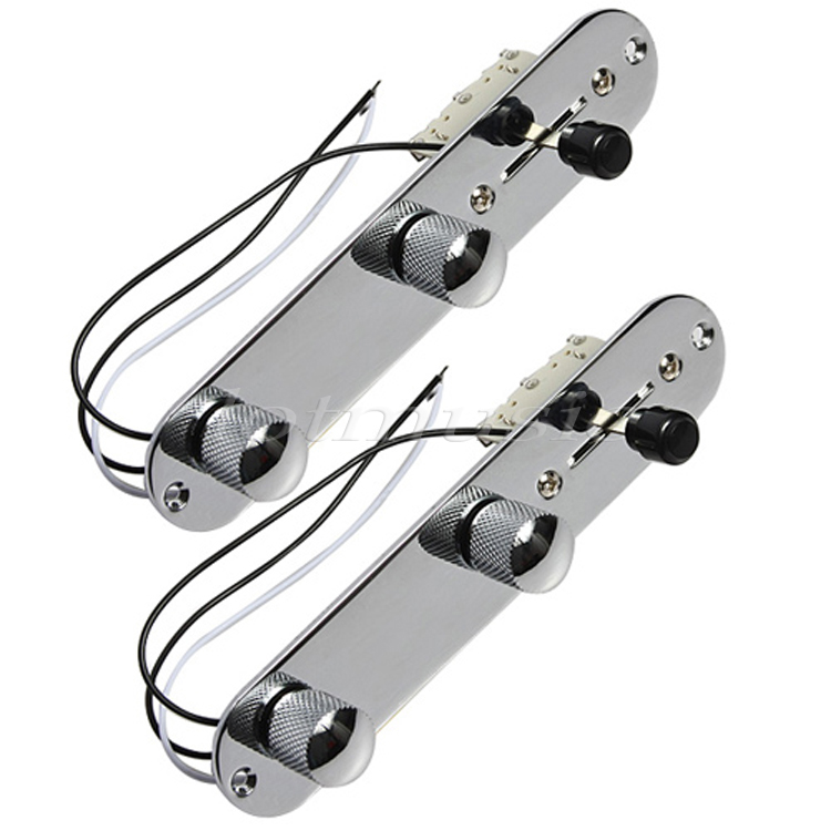 2Sets Loaded Control Plate 3Way Switch Plate Knob Harness Set For Electric Guitar Replacement curt 51434 brake control harness