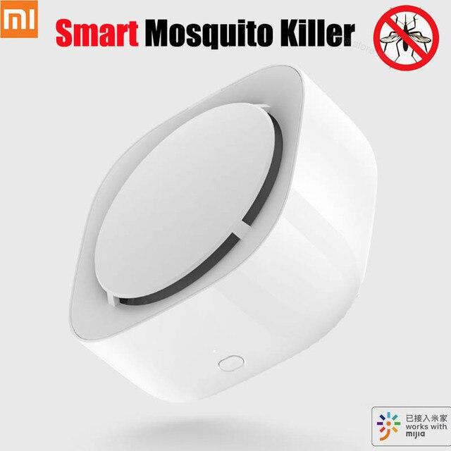 החדש שיאו mi mi jia חכם יתושים דוחה רוצח Ti mi ng מתג לזהות סנכרון LED אור עבודה עם mi בתים APP חכם