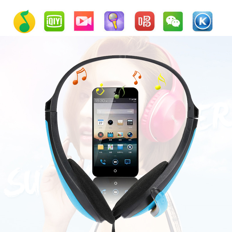Game stereo headphones, bass headphones with microphone, suitable for PC game console MP3 player, high quality