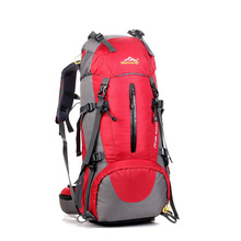 HOT 2017 Outdoor Professional Mountaineering bag 50L Long Distance Travel Sport Hiking Camping Trekk Knapsack Backpack Men Women