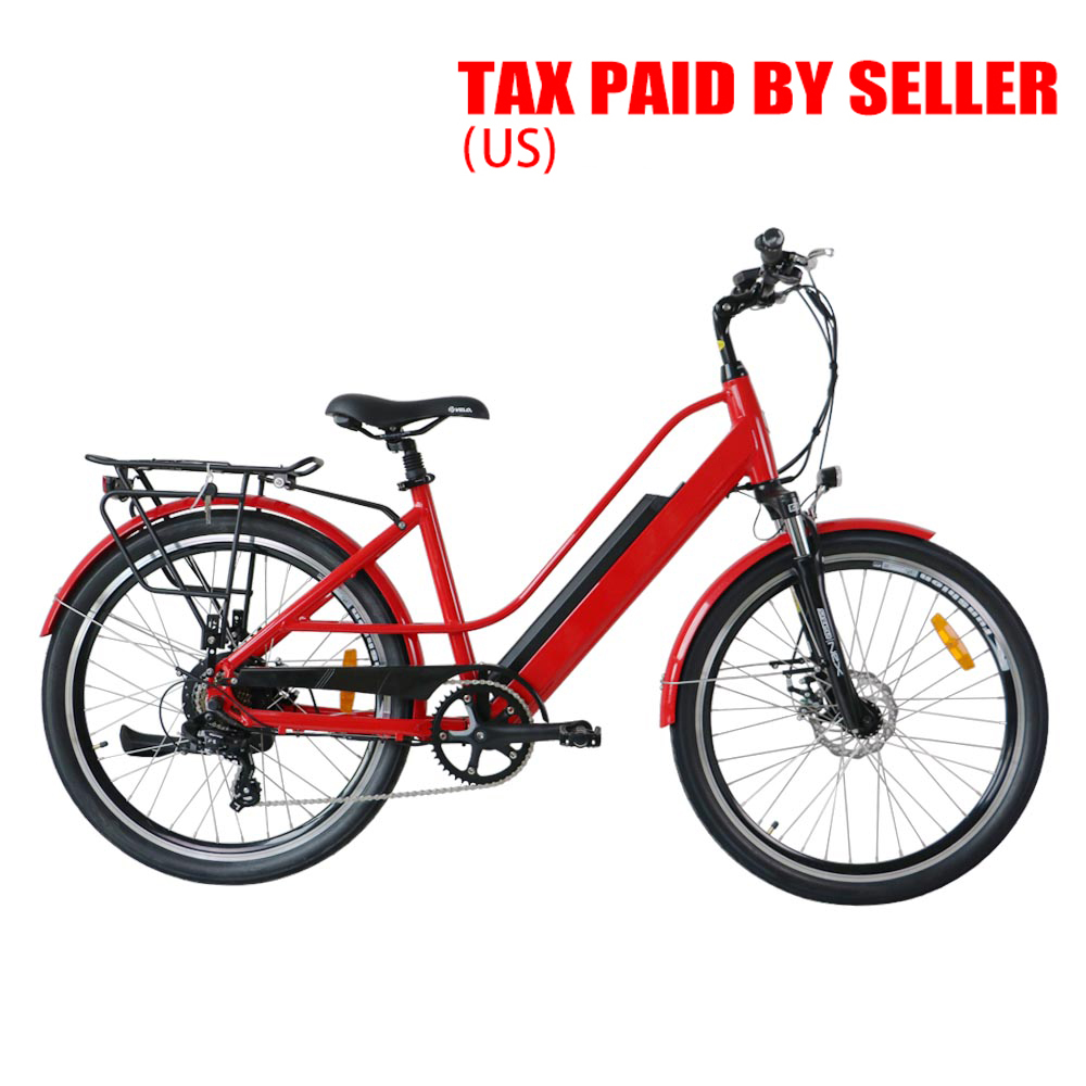 USA CANADA AU DROP SHIPPING EUNORAU 26inch Electric City Bicycle with torque sensor