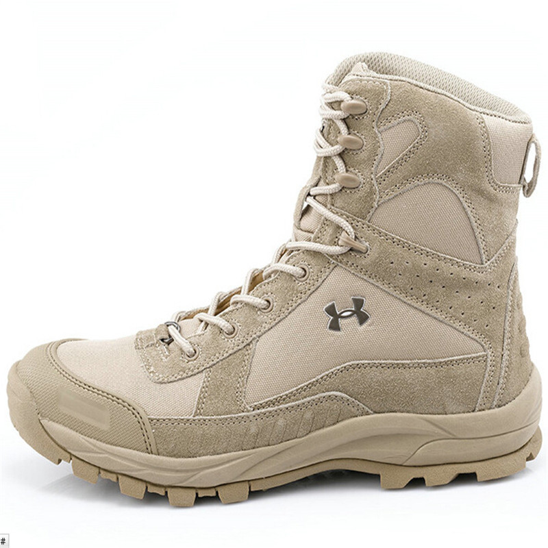 Women Men Military Tactical Boots Desert Combat Ou...