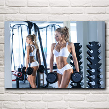 Popular Fitness Posters Women-Buy Cheap Fitness Posters