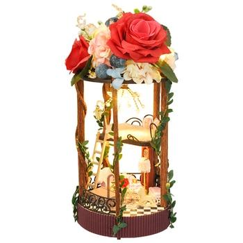 Cutebee Doll House Furniture Miniature Dollhouse DIY Room Box Theatre Toys for Children TC5